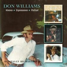 Don Williams : Visions/Expressions/Portrait CD 2 discs (2013) ***NEW***