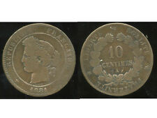 FRANCE  FRANCIA   10 centimes ceres 1881