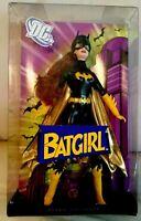 BATGIRL BARBIE DOLL DC COMICS 2008  PINK LABEL MATTEL L9630 MINT NRFB