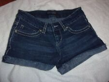 WOMAN'S LEVI'S CUT OFF MINI DENIM SHORTS SIZE 3