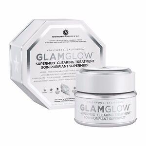 Glamglow super Mud Mask clearing treatment 34g/1.7oz