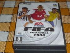 PC CD ROM FIFA 2004 used RARE Win 98 XP 2000 ME French EA Sports