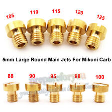 5mm Main Jets For Mikuni Carburetor VM22 VM24 Dirt Pit Bike 125 150 200 250cc