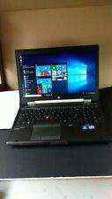 "HP EliteBook 8570w 15.6""Gaming Laptop Core i5 8GB 500GB WiN10  WIFI LAPTOP"