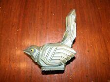 ANTIQUE FRENCH SPELTER ART DECO BIRD CASTING STATUE FIGURINE MOREAU