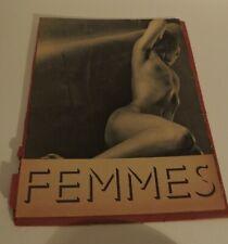 1931 Images d'une Femme PILLARD VERNEUIL Spécimen 11 planches