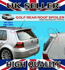 VW GOLF MK4 REAR ROOF SPOILER WING 1997-2003 (PRIMED)