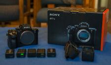 Sony Alpha A7S II 4k Mirrorless Camera + Original Box + 5 Batteries + Charger