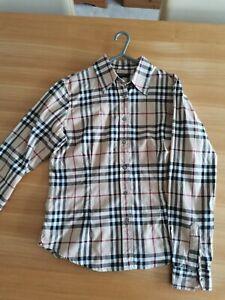 Burberry London Ladies Classic Check Shirt Size Medium