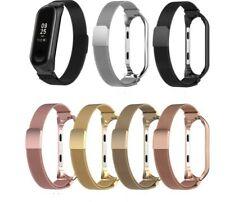 Correas funda Xiaomi Mi Band 4 3 Silicona Reloj Pulsera Banda Muñequera metal MI