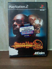 SHADOW MAN 2ECOND (2ND) COMING - SONY PS2 GAME - FREE UK POSTAGE