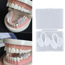2pcs Dental Mouth Guard Bruxism Splint Teeth Grinding Sleep Aid Braces Tool~QA