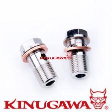 Kinugawa Turbocharger Banjo Bolt M16x1.5 mm w/ Washer Garrett Garret TB03 T3