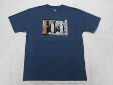 Quiksilver Waterman Collection Board Room Blue T-Shirt Tees Size Large