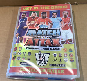 Match Attack 2014/2015 Binder Approx 95% Complete