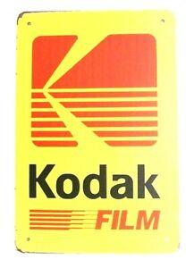 Kodak Film Tin Poster Sign Man Cave Photography Camera Vintage Retro Ad Style