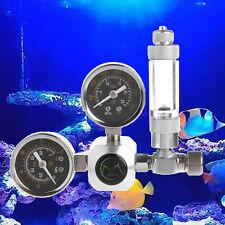 Aquarium C02 Regulator Controller Pressure Reducer Two Gauge Bubble Planted