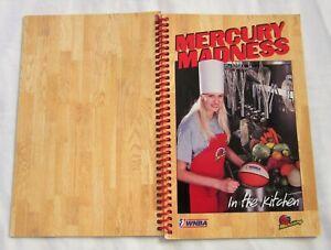 PHOENIX MERCURY Madness in the Kitchen 1998-99 Team Cookbook w/ autographs RARE
