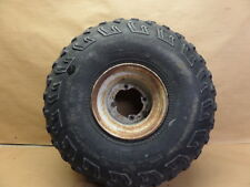 1996 SUZUKI QUADRUNNER 160 LT160 REAR WHEEL RIM WITH TIRE