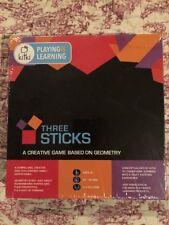 Kitki THREE STICKS Math Creative Game Puzzles Educational For Kids Stem Toy NEW