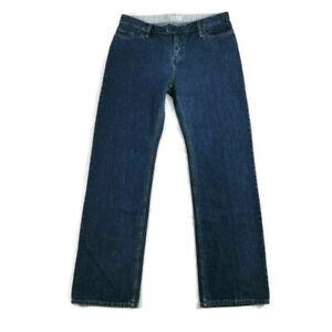 Toast Size 14 Blue Denim Straight Leg Jeans NEW BNWT Womens