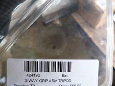 Go Pro GoPro 3-Way Tripod Grip Arm 3-in-1 Camera Mount 424193 2 Oem New