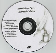 Anna Katharine Green 12 Audio Books on MP3 DVD 54hrs Leavenworth Initials xyz