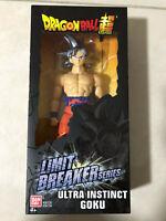 "Dragon Ball Super Limit Breaker 12"" Series  -  Ultra Instinct Goku Figure"