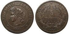 5 centimes Cérès 1882 A, TTB