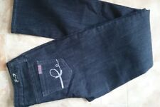 Jeans,SEVEN 7 Los Angeles,W28,L32,Navy Grey,Mid Rise,Slim Fit,Stretch,Women's