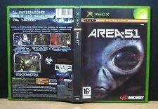 AREA 51 - XBOX - PAL - Italiano - Usato