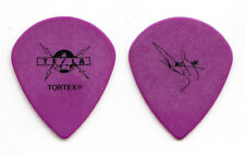 Tesla Dave Rude Signature Purple Teardrop Guitar Pick - 2009 Tour