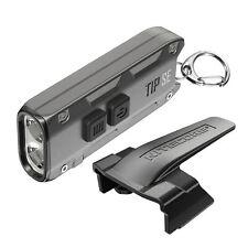 Nitecore Tip SE 700 Lumen Rechargeable Keychain EDC Flashlight Grey