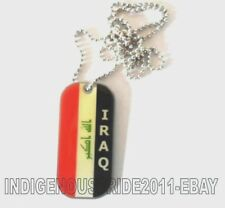 Iraq National Flag  Military Tag Unisex necklace.Almost sold out. Great Gift