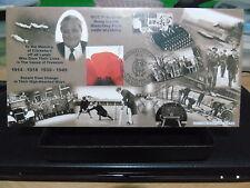 QC collection GB album Bletchley Park Cricket FDC voir photos et détails de 23