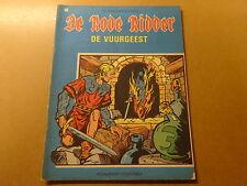 STRIP / DE RODE RIDDER 13: DE VUURGEEST   Herdruk 1972