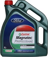 New! Castrol Magnatec 5W20 5 Litres Professional Engine Oil Ford Ecoboost 5L