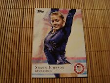 Topps - U.S. Olympic Team & Hopefuls - Shawn Johnson