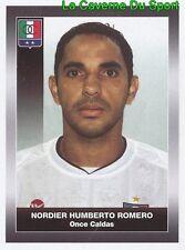 225 NONDIER ROMERO ONCE CALDAS STICKER PANINI COLOMBIA PRIMERA A 2008