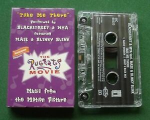 Blackstreet & Mya Take Me There from Rugrats Movie Cassette Tape Single - TESTED