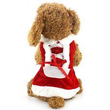 Maglione vestito cane Chihuahua Yorkie Cucciolo Giocattolo 18 cm Babbo Natale Costume