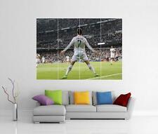 Cristiano RONALDO REAL MADRID celebrazione Giant Wall Art POSTER FOTO