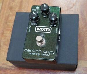 MXR Carbon Copy Delay Pedal