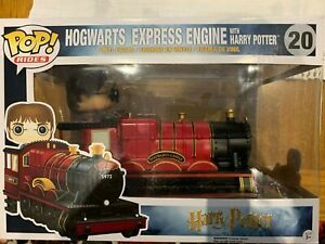 Hogwarts Express Engine w/Harry Potter Funko Pop Vinyl BNIB #20