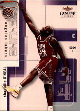 Rare 2003-04 Fleer Genuine Insider Reflections #65 Shaquille O'Neal Card 38/99