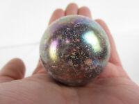 """TOE BREAKER 50mm (2"""") JUPITER Marble Speckled glass ball Toebreaker HUGE"""