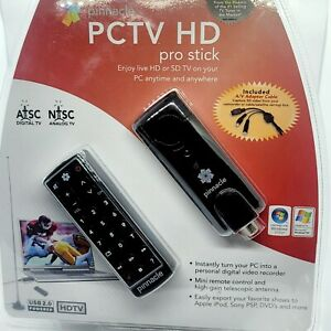 Pinnacle PCTV HD Pro Stick USB2 HDTV Tuner for HD on PC NEW!