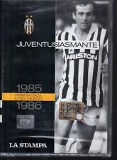 DVD=JUVENTUSIASMANTE=1985-1986=PRIMI IN ITALIA E NEL MONDO=PLATINI-LAUDRUP=SIG.