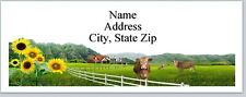 30 Personalized Address Labels Country Farm Scene Buy 3 Get 1 free (P 310)