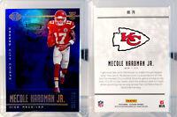 2019 Illusions - #79 Mecole Hardman Jr RC 35/299 - Kansas City Chiefs Rookie